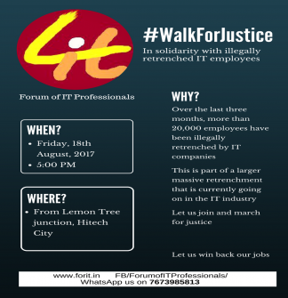 Walk for Justice Invitation